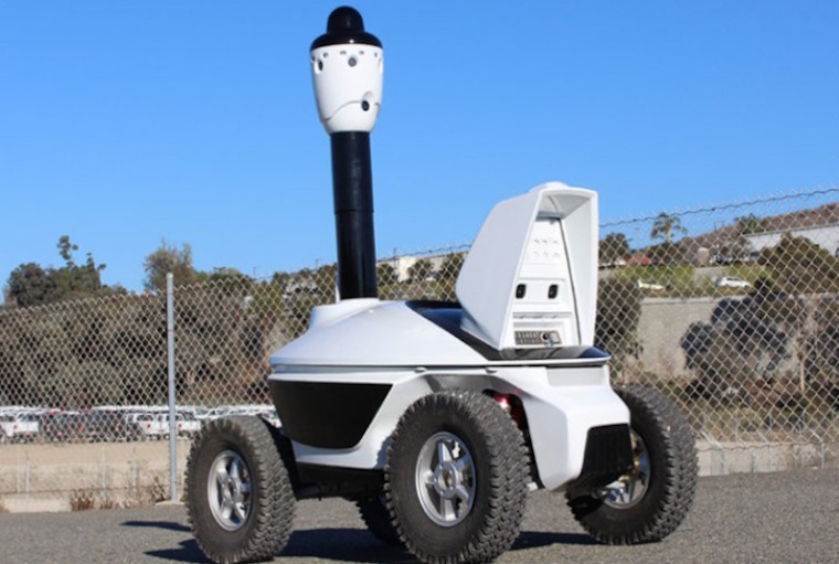 Advanced Security introduces security robots.